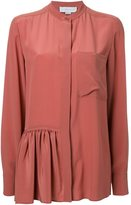 Stella McCartney skirted detail shirt - women - Silk - 42