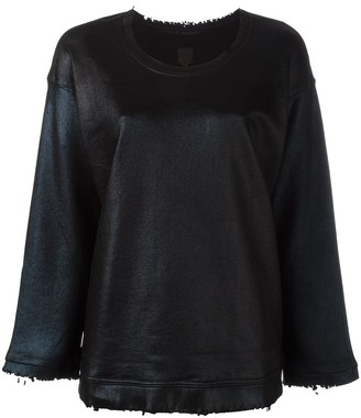RtA Crew Neck Distressed Jumper