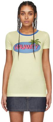 Dolce & Gabbana Yellow Havanity T-Shirt