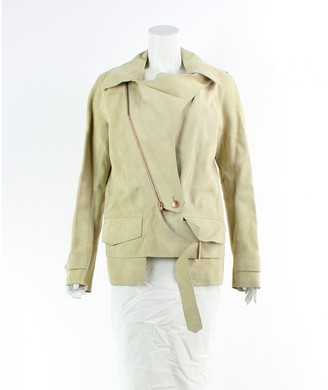 Alexander Wang Yellow Suede Jacket for Women