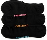 Converse 3 Pack Women's No Show Socks