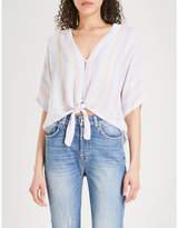 Rails Thea Isla linen-blend shirt