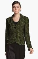 St. John Fringe Tweed Jacket