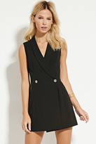 Forever 21 Double-Breasted Dress