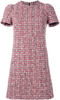 Alexander McQueen tweed dress - women - Cotton/Virgin Wool/Polyamide/Silk - 40