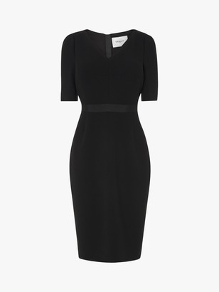 LK Bennett Isla Crepe Shift Dress