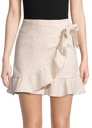 Lea & Viola Printed Mini Skirt