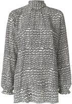 Valentino patterned blouse - women - Silk - 40