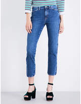 MiH Jeans Cult straight mid-rise jeans