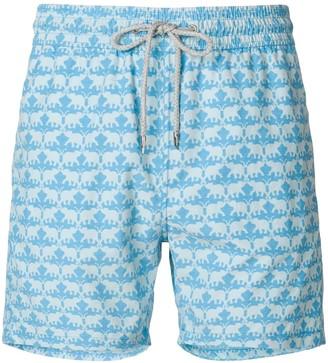Love Brand elephant print swim shorts