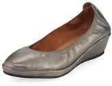 Gentle Souls Natalie Stretch-Demi Wedge Ballerina Shoe