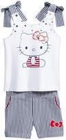 Hello Kitty 2-Pc. Tank Top & Seersucker Shorts Set, Toddler Girls