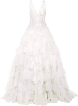 Isa Belle Isabelle Armstrong The Izzy Beaded Tulle Gown