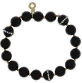 Anne Klein Semi-Precious Stones and Jet Beads Bracelet