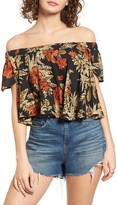 Raga Women's Island Fever Off The Shoulder Crop Top