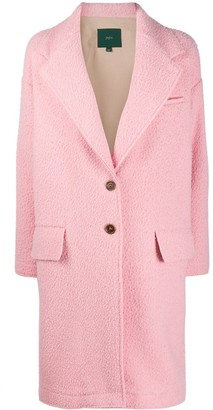 Jejia Textured Single-Breasted Coat