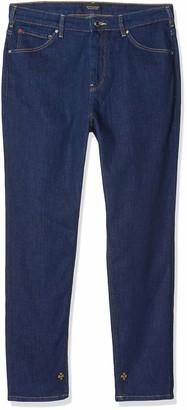 Scotch & Soda Maison Women's Haut Straight Jeans Blue (Fresh Rinse 3352) W36/L32 (size: 26/32)
