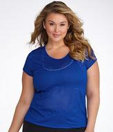 Calvin Klein Performance Mesh T-Shirt Plus Size