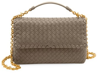 Bottega Veneta Small Olimpia Leather Shoulder Bag