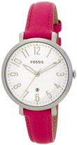 Fossil Women's Jacqueline Leather Strap Watch