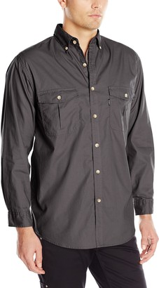 Key Apparel Men's Big-Tall Long Sleeve Rip Stop Shirt