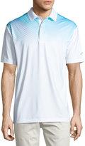 Callaway Diagonal Gradient Polo Shirt, Bright White