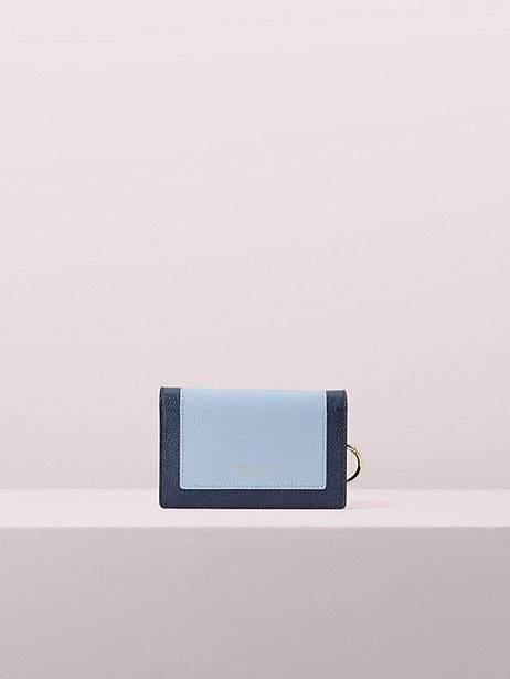Kate Spade Margaux Small Keyring Wallet, Horizon Blue