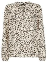 Dorothy Perkins Womens Multi Coloured Glitter Long Sleeve Top