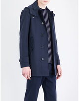 Sandro Single-breasted cotton coat