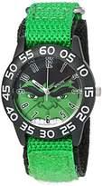 Marvel Boy's 'Hulk' Quartz Plastic and Nylon Watch