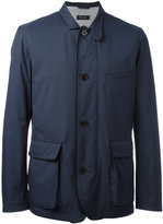 Loro Piana cargo pocket jacket - men - Silk/Polyamide/Polyurethane - S