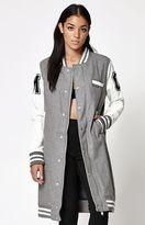 Members Only Long Varsity Jacket