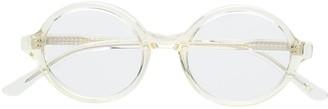 Han Kjobenhavn Round Clip-On Sunglasses