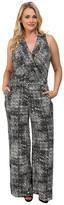 Mynt 1792 Plus Size Sheer Bodice Jumpsuit