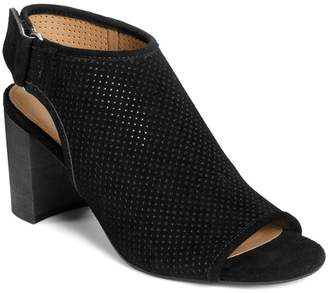 Aerosoles High Impact Perforated Suede Bootie