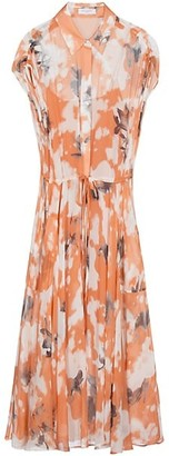 Equipment Didier Floral Silk Dress
