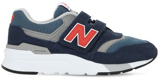 New Balance 997 Suede & Mesh Strap Sneakers
