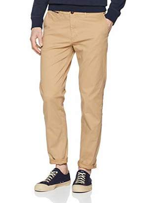 Scotch & Soda Men's Mott-Classic Cotton/Elastane Chino Trouser,W30/L34 (Size: 30/34)