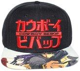 Bioworld Men's Licensed Cowboy Bebop Logo Sublimated Brim Snapback Hat O/S