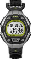 Timex Unisex Quartz Watch with LCD Dial Digital Display and Black Fabric Strap TW5K89800