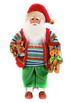 Beary Christmas Santa Figurine