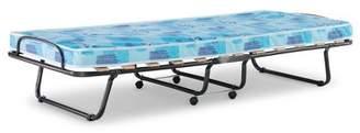 Linon Roma Folding Bed Twin Blue