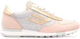 Bally glitter panel sneakers