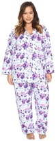 BedHead Plus Size Long Sleeve Classic Pajama Set