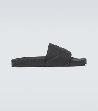 Bottega Veneta The Slider rubber sandals