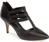 Sole Society 'Mallory' T-Strap Leather Pump (Women)