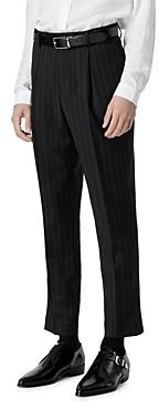 The Kooples Wool Pinstripe Suit Pants