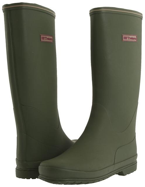 Tretorn Kelly Vinter - Rubber Rain Boot (Olive) - Footwear