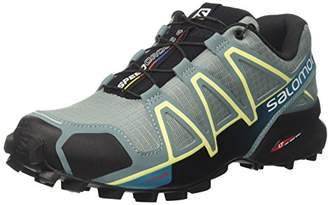 Salomon Women's Speedcross 4 Trail Running Shoe, Synthetic/Textile, Blue (Arctic/Black/Enamel Blue), Size: 45 1/3