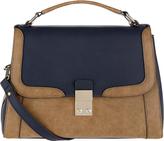 Accessorize Campbell Colourblock Satchel Bag